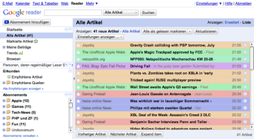 Better Google Reader